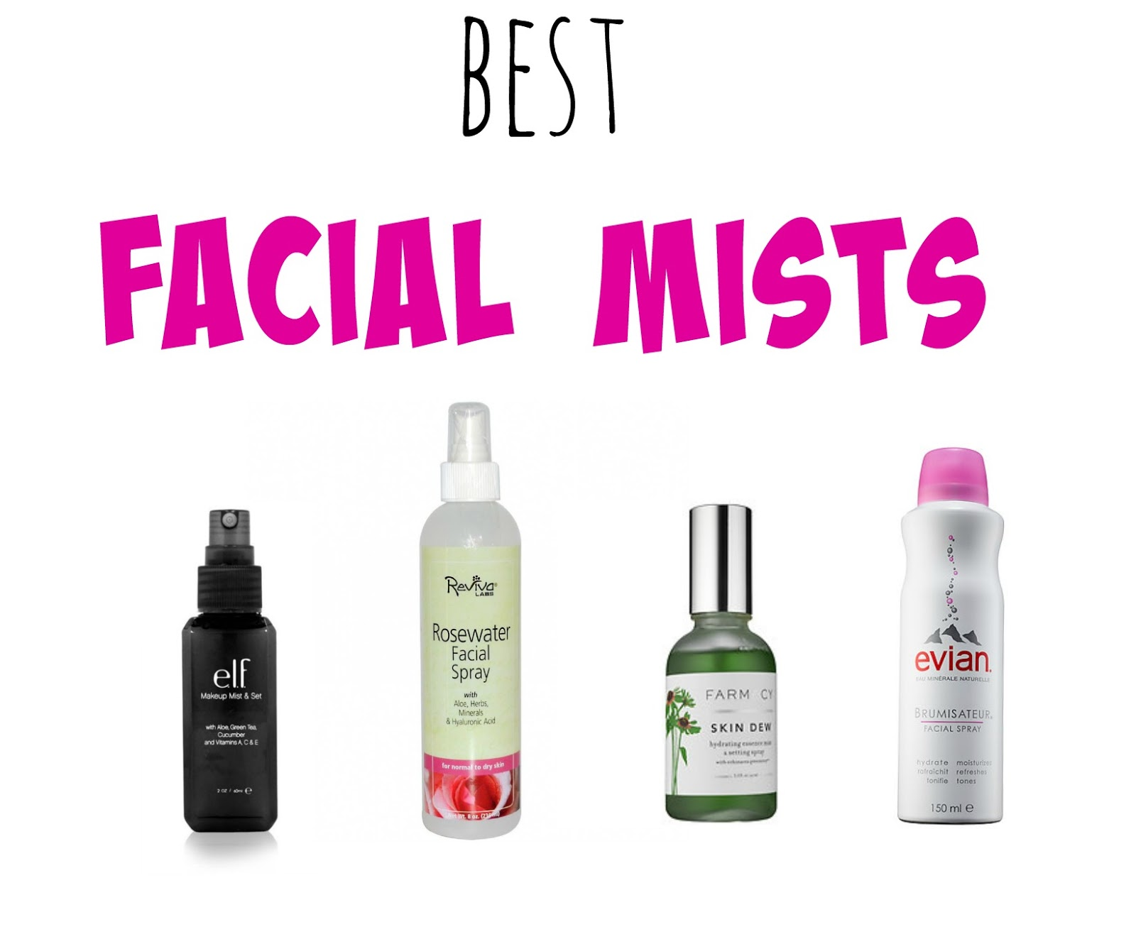 Best Setting Sprays Amp Facial Mists Amp Giveaway