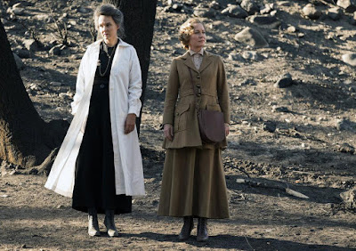 Susanna Thompson and Kim Bubbs in Timeless Season 2