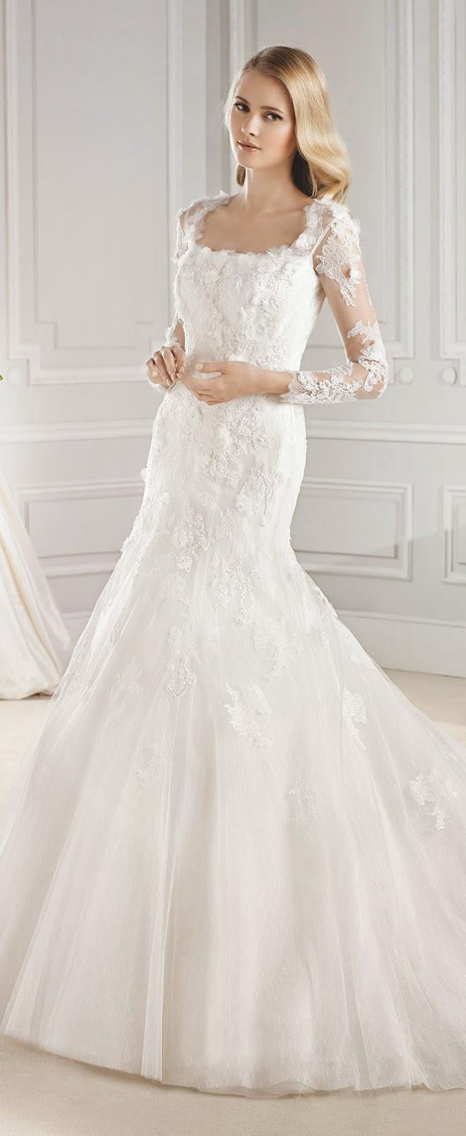 86f5826981 La Sposa Barcelona 2015 Bridal Collections - Belle the Magazine ...