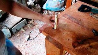 Taquito para el banco de carpintero