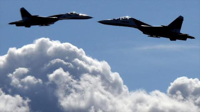 Cazas de la OTAN interceptan dos aviones militares rusos
