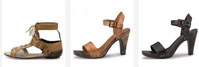 Sandalias de cuero de la marca Levis