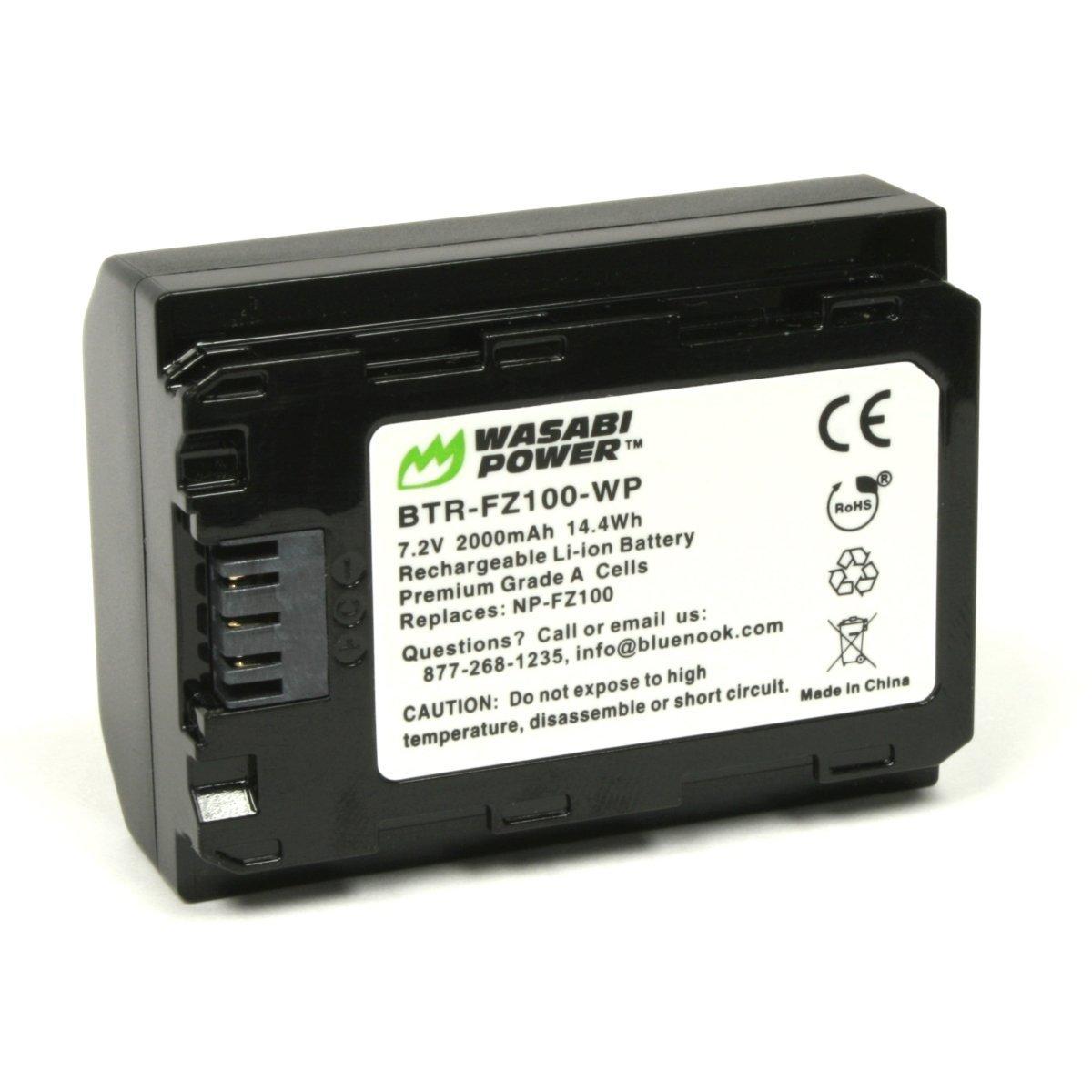 Клон аккумулятора Sony NP-FZ100 от Wasabi