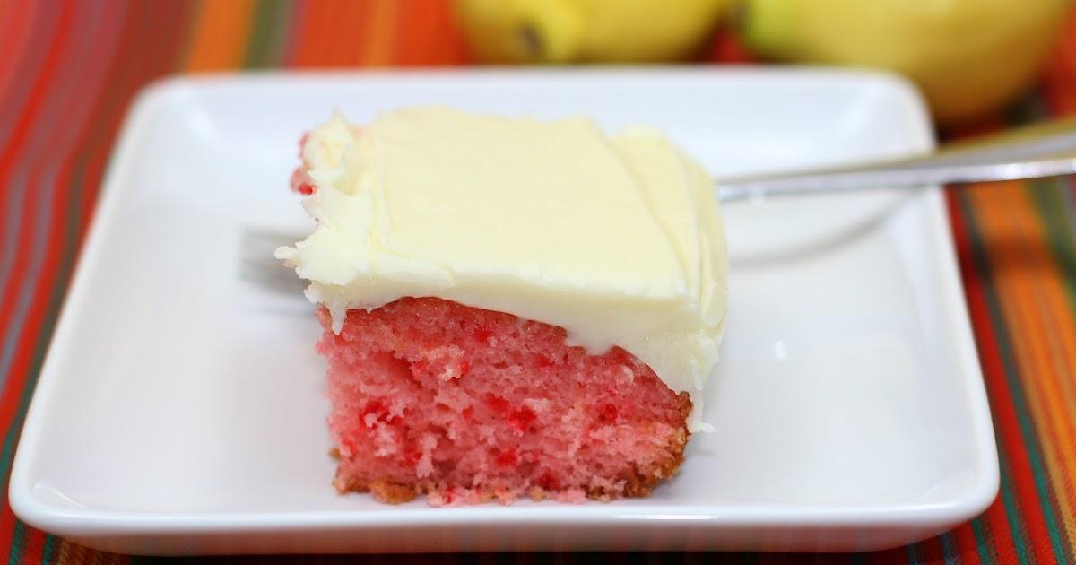 Strawberry Lemonade Cake With Kool Aid