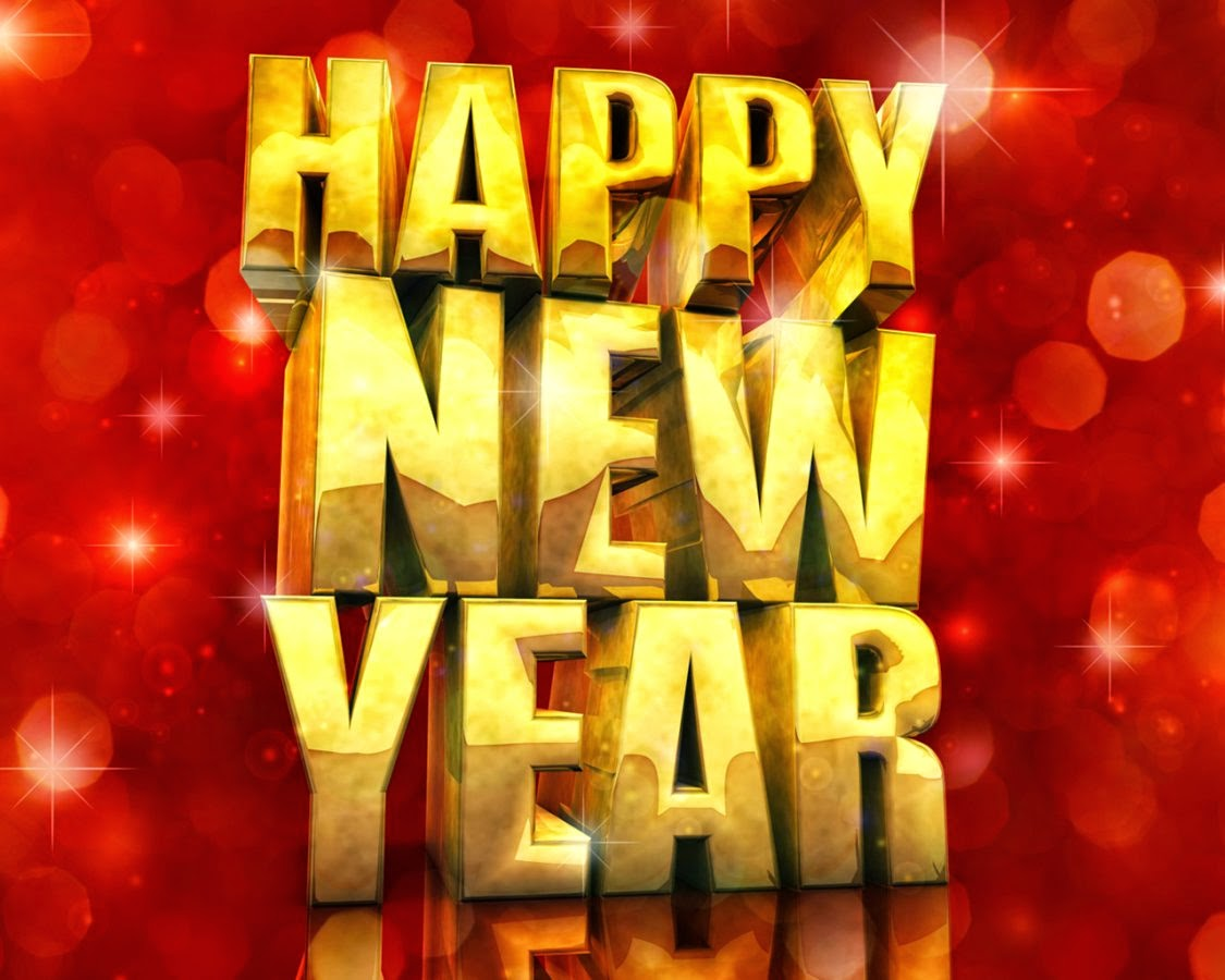 Happy New Year 2019 3D Text Images for Desktop