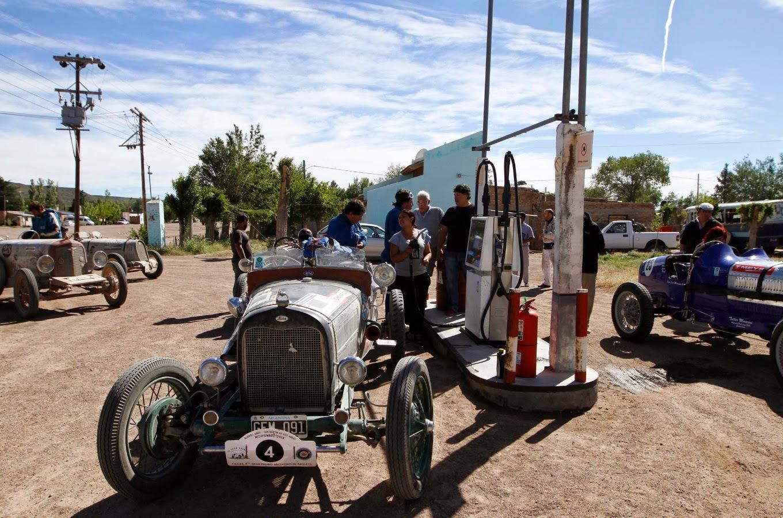 As Baquets fizeram a festa em pequenos povoados no interior profundo da Argentina.