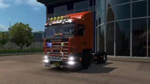 Scania 114L truck