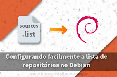 Criando uma Sources List para o Debian