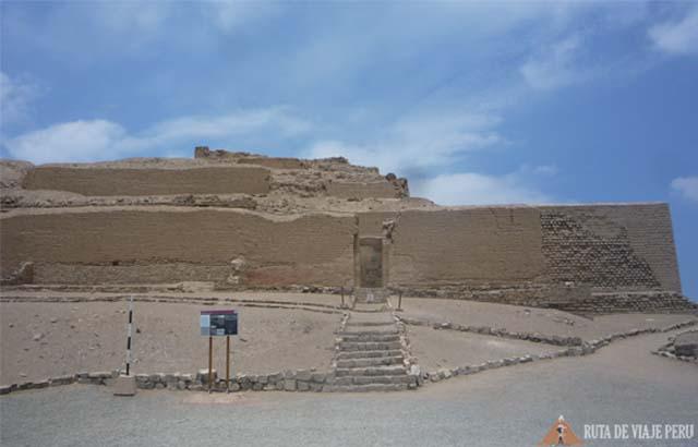 Templo del Sol Santuario de Pachacamac