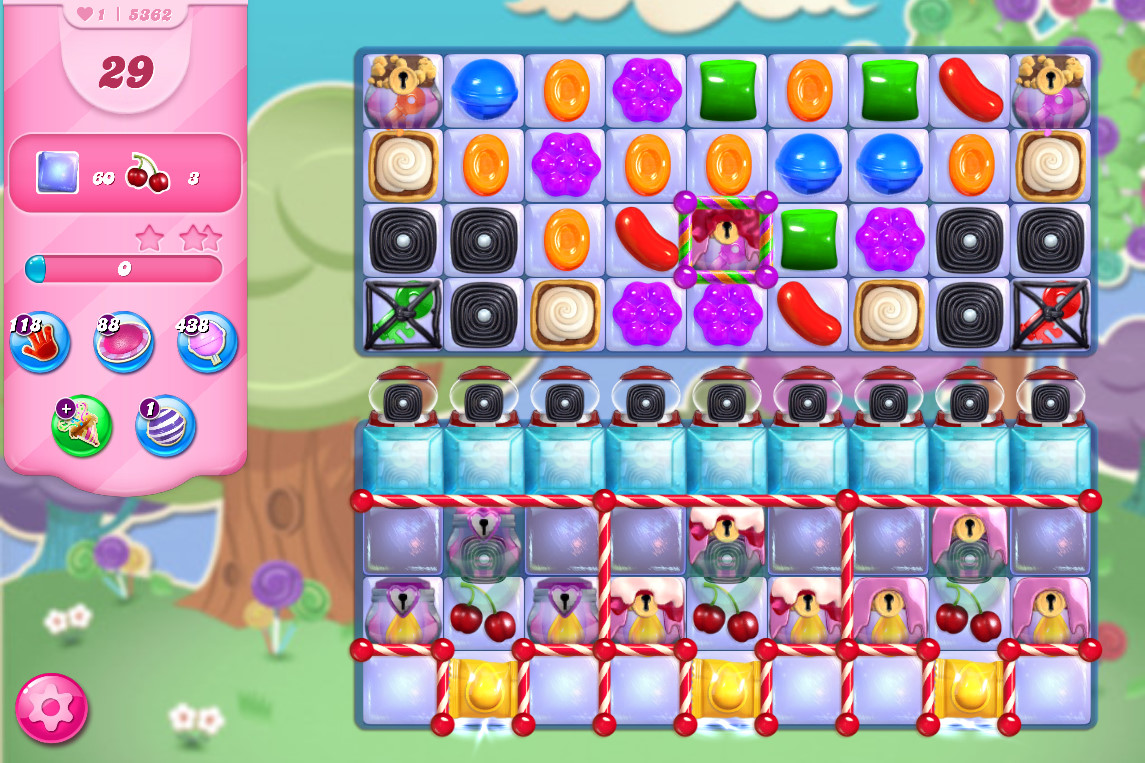 Candy Crush Saga level 5362