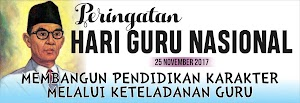 Spanduk Hari Guru Nasional dan Spanduk HUT PGRI