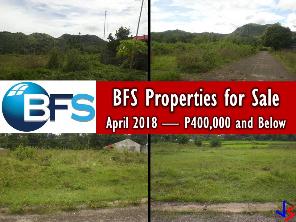 Note: Jbsolis.com is not affiliated with BFS and this post is not a sponsored. All information below is for general purpose only. If you are interested in any of these properties, contact directly with the offices' branches in your area or in contact info listed in this post. Any transaction you entered towards the bank or any of its broker is at your own risk and account.