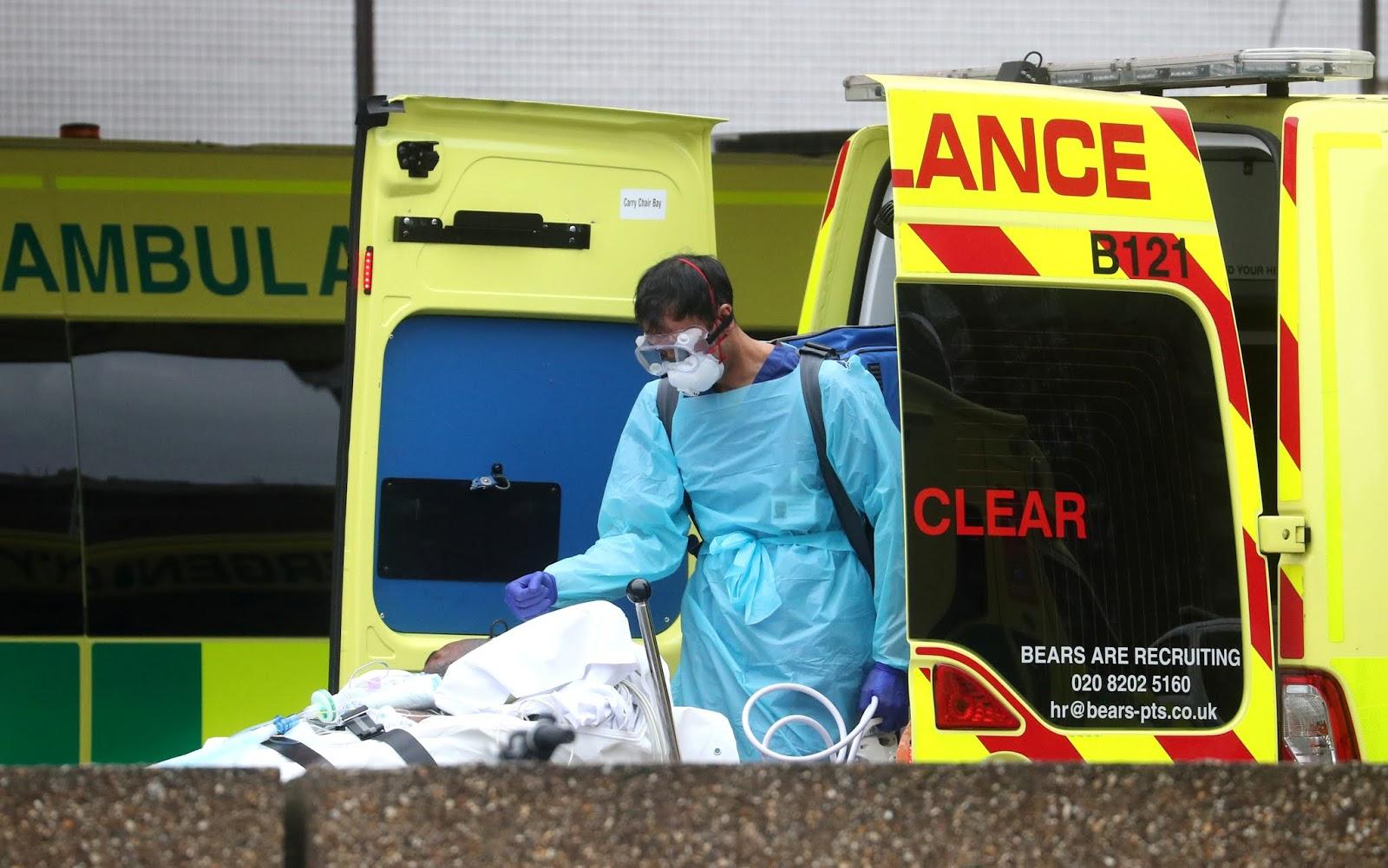 Coronavirus en Reino Unido: Las muertes disminuyen por segundo día consecutivo