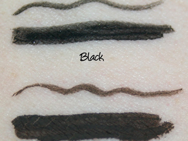 Collection Fast Stroke Liquid Liner - Black and Brown Swatches & Review