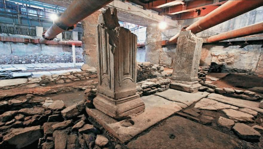Σπουδαία ανακάλυψη: Βρέθηκε βυζαντινή μαρμαροστρωμένη πλατεία στα έγκατα της Θεσσαλονίκης!