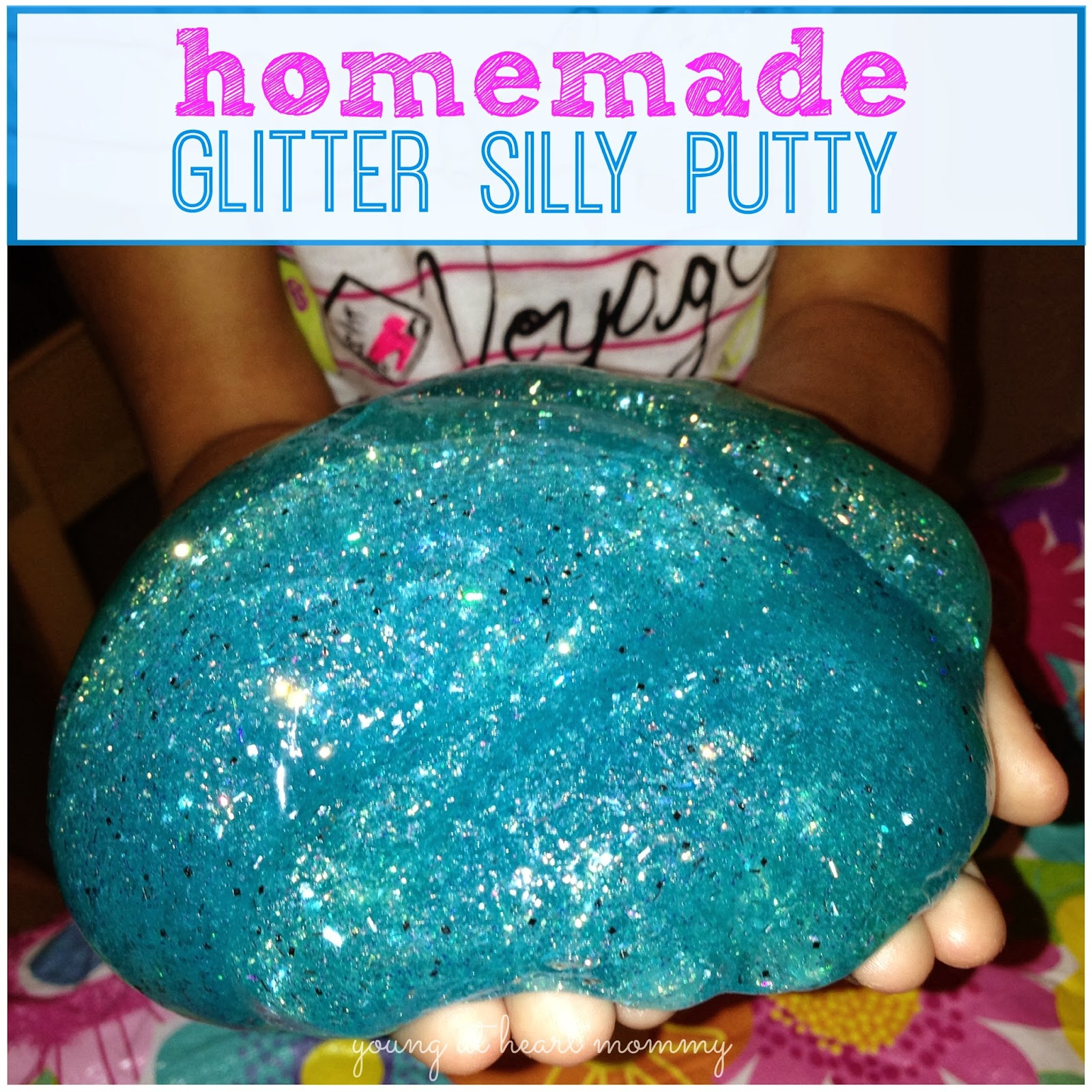 how to make clear putty without borax