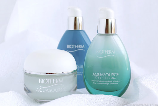 Biotherm Aquasource Moisturizer, Deep Serum, and Nuit Review | Blush Me Pretty