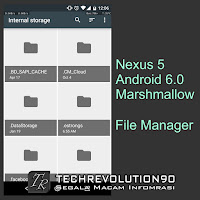 Android 6.0 Marshmallow Nexus 5