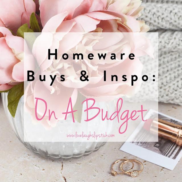 Home Interiors, Budget Homeware Picks, Lovelaughslipstick Blog