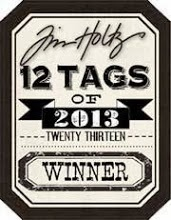 So happy to be a winner with the final tag of the Twelve Tags of 2013 Challenge