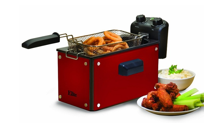 Red Deep Fryer