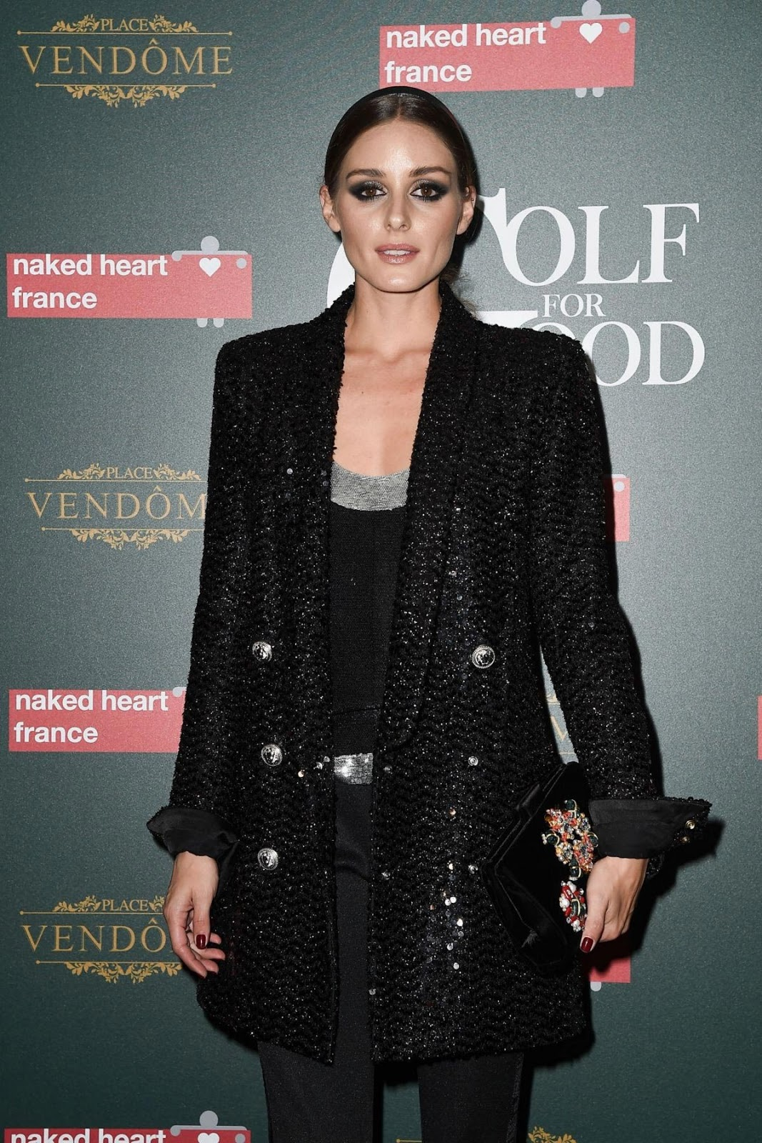8ae08dcf86 Olivia Palermo at Naked Heart France Gala Dinner in Paris