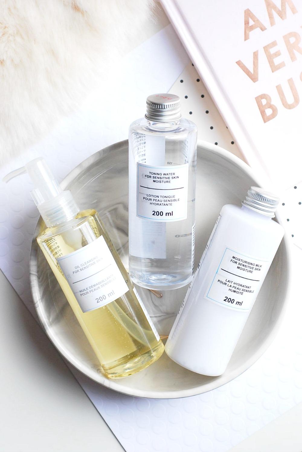 MUJI Moisturizing Milk for Sensitive Skin review