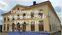 Bild på Drottningholmsteaterns 250 årsdag 2016