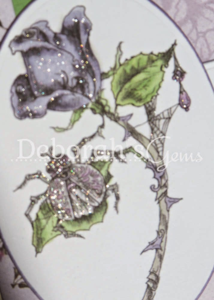 Hello detail - photo by Deborah Frings - Deborah's Gems