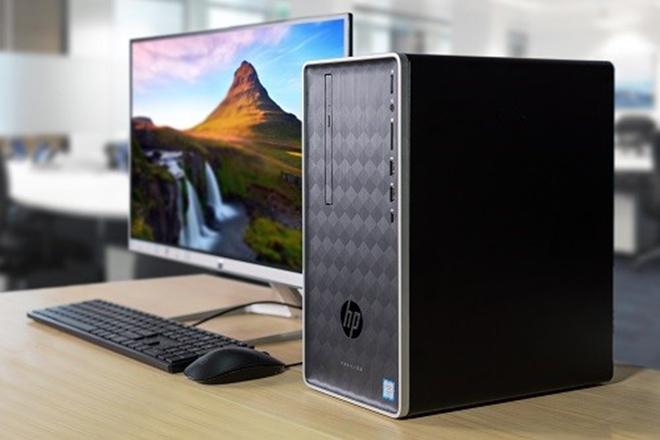 Đánh giá HP Pavilion 590 - Máy tính đồng bộ cấu hình cao, nhỏ gọn cho dân văn phòng
