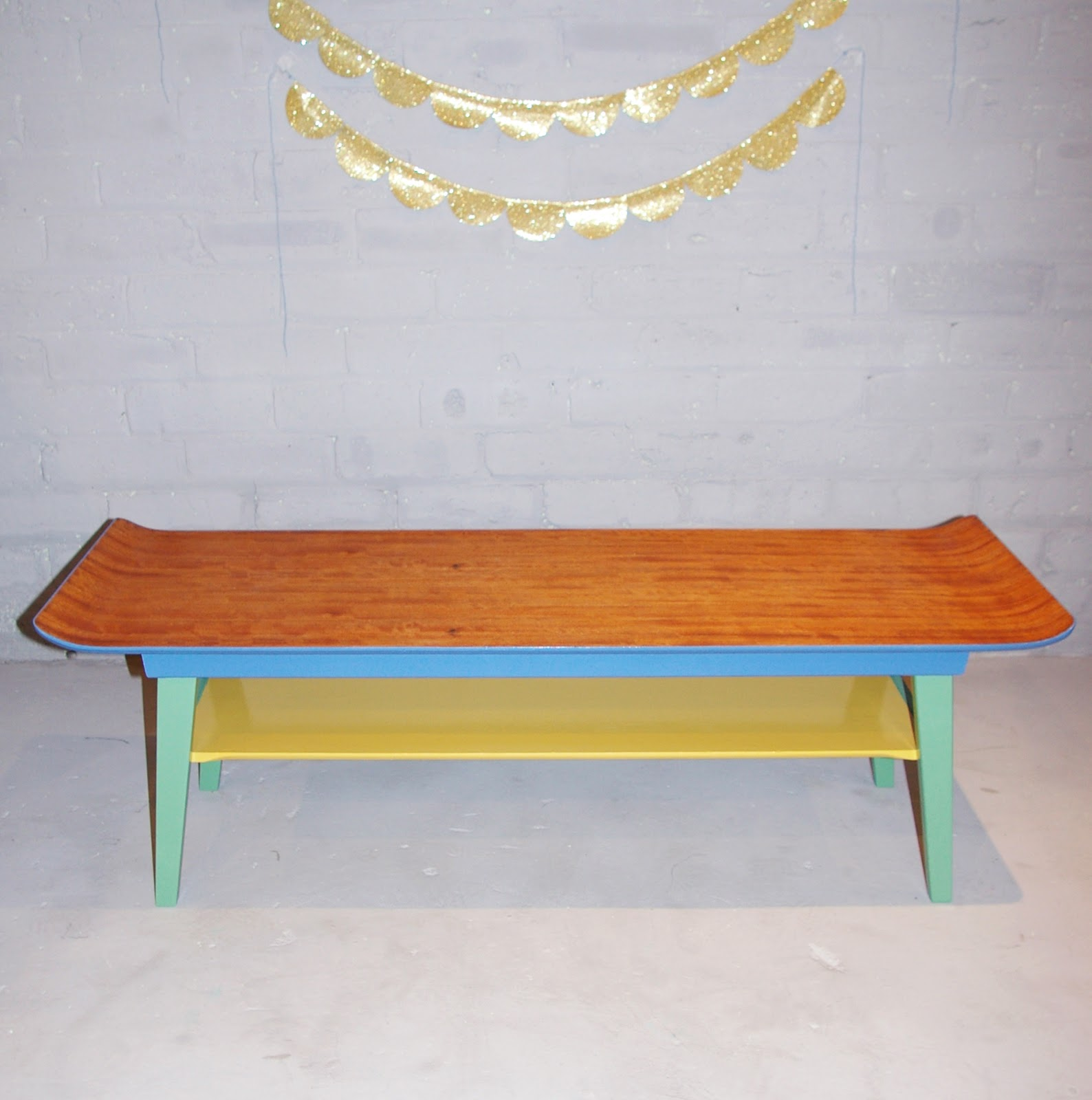 Coffee Table 1950s: Ziggy Sawdust: 'Brian'- The Redesigned 1950s Coffee Table
