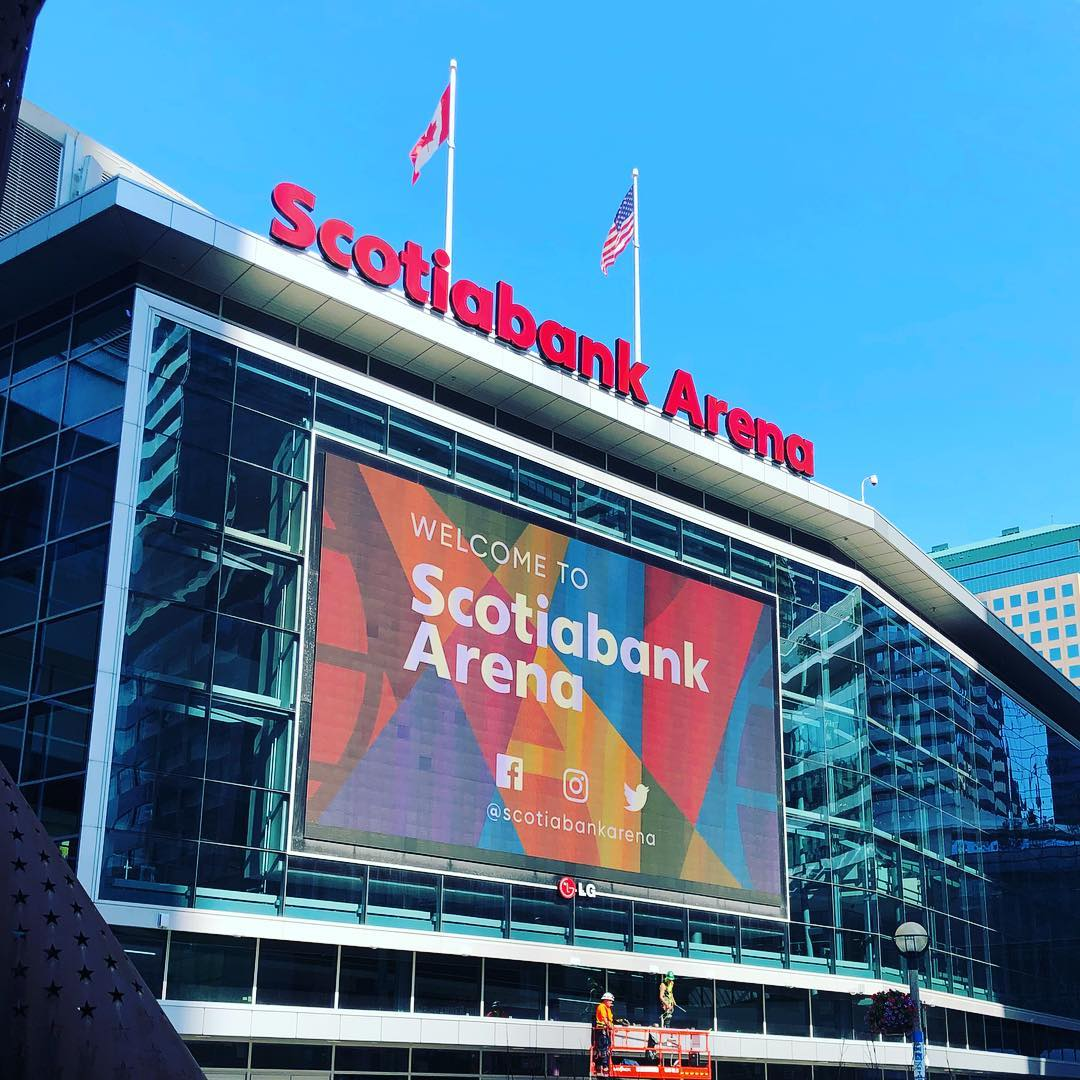 Scotiabank Arena Name Brings New Technology