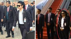Terjawab Sudah! Inilah Sosok Pengawal Wanita Presiden Jokowi Saat Kunjungi Bangladesh