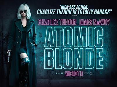 Atomic Blonde Banner Poster