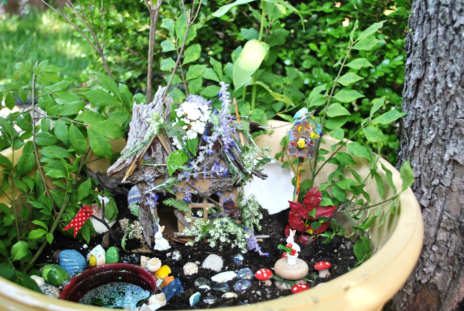 HeyDay Living: DIY Fairy House