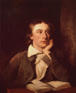 This portrait of Keats by William Hilton is housed in the National Portrait Gallery in London