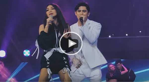 "Watch: James Reid and Nadine Lustre perform ""Despacito"""