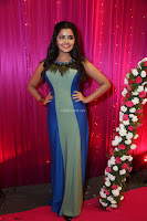 Anupama Paramesvaran in beautiful Sleeveless Gown at Zee Telugu Apsara Awards 2017 10.JPG