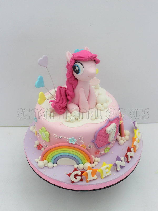 Cakes2share Singapore My Little Pony 3d Cake Singapore Pink Pony