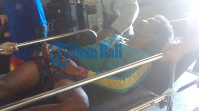 Seorang Pekerja Jatuh dari Ketinggian Delapan Meter akibat Kesetrum
