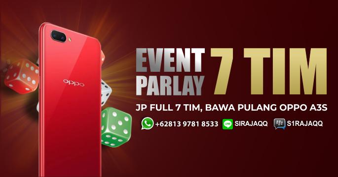 Event Parlay 7 Tim