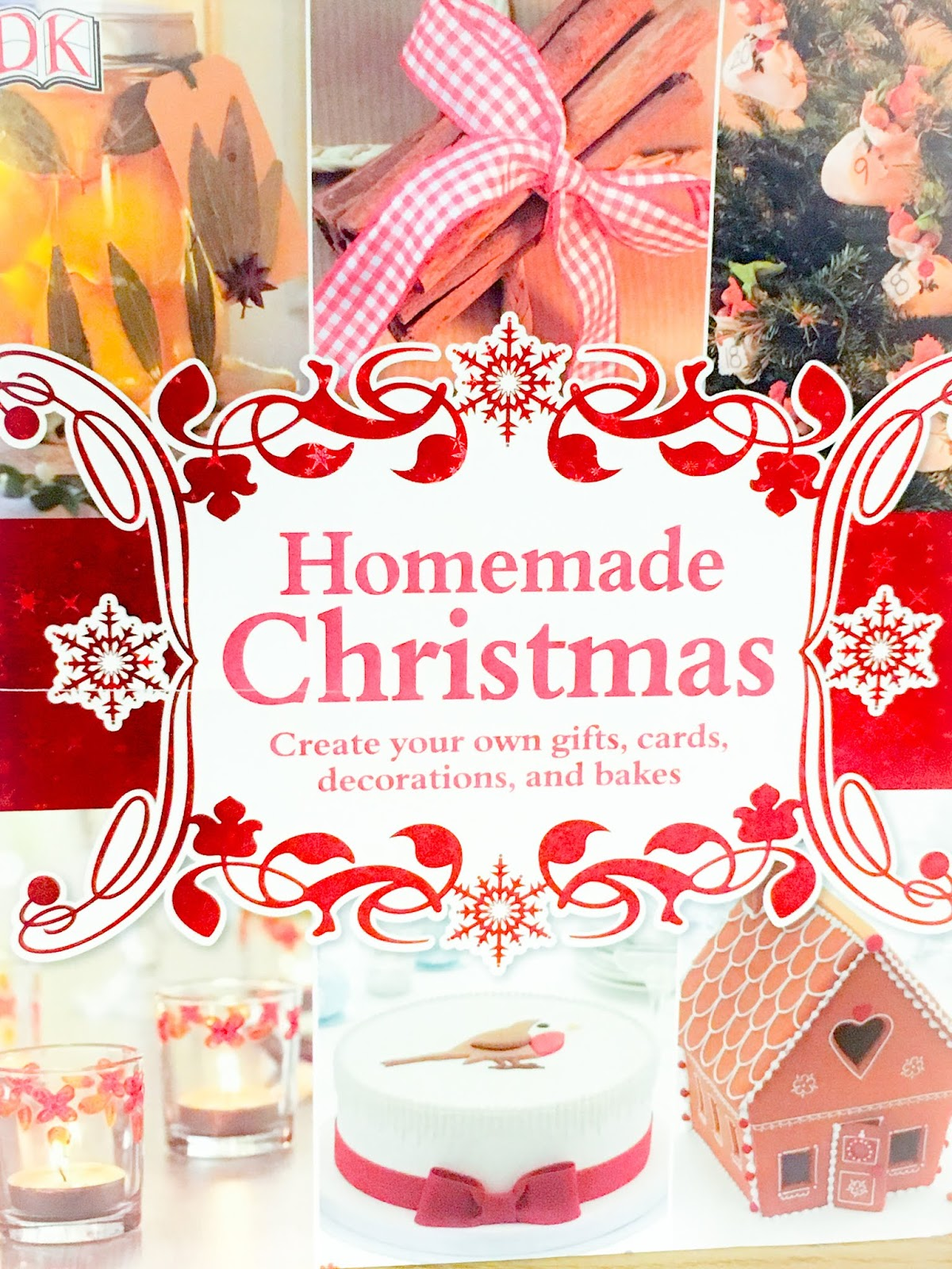 Homemade Christmas by DK front cover