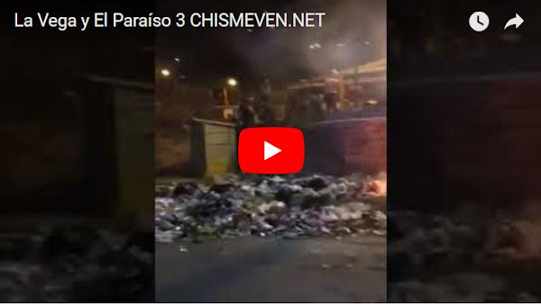 La Vega y El Paraíso salieron a protestar durante la noche