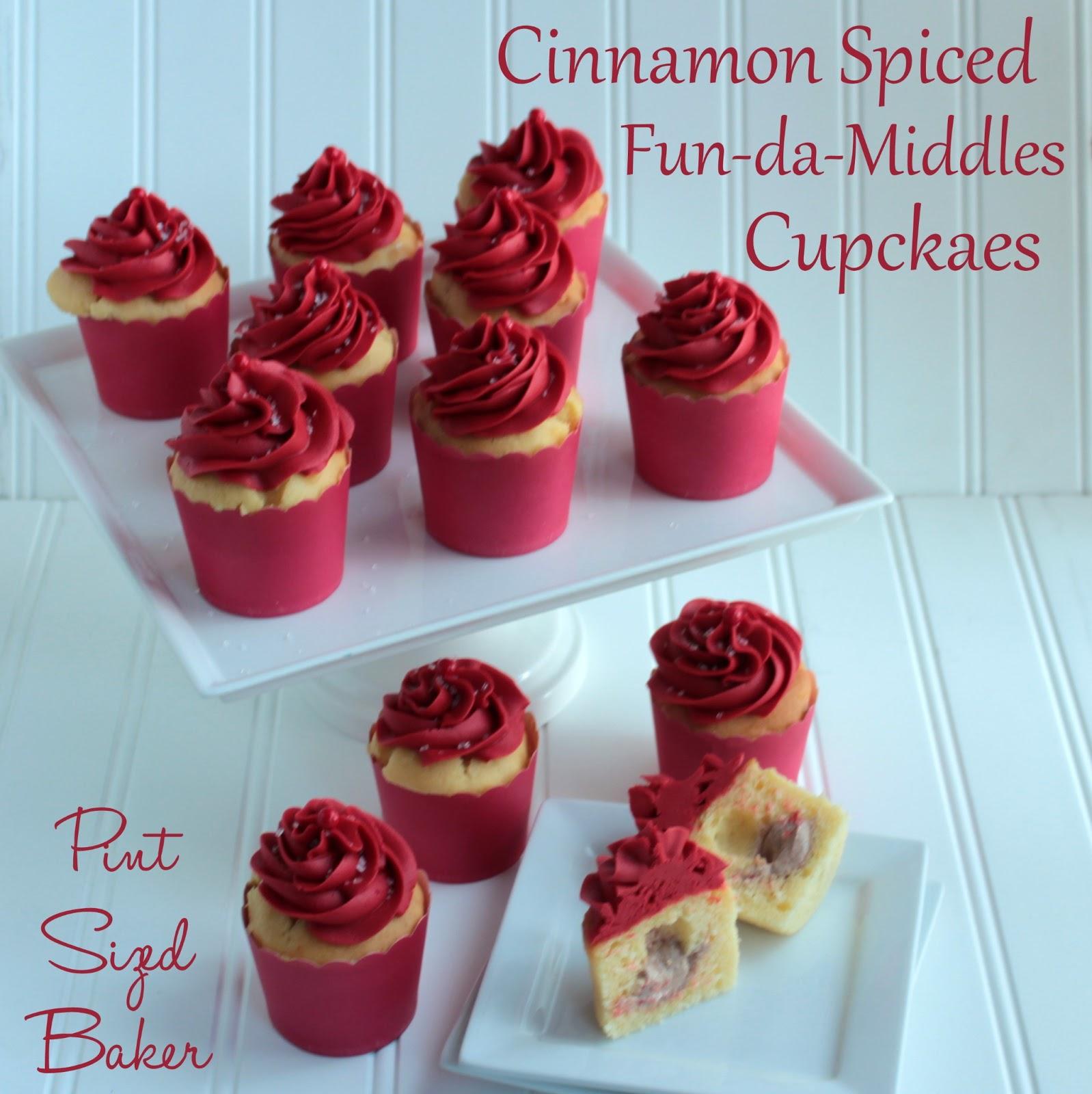 Cinnamon Fun Da Middles Cupcakes And Duff Goldman Pint Sized Baker