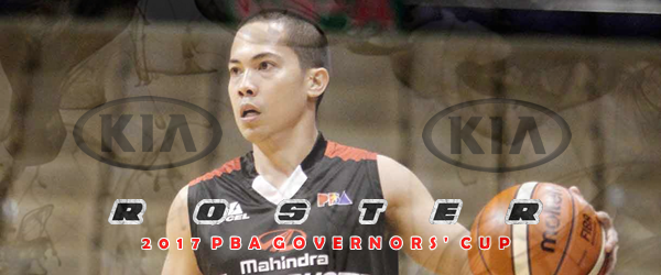 List of Kia Picanto Roster 2017 PBA Governors' Cup