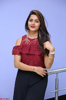 Pavani Gangireddy in Cute Black Skirt Maroon Top at 9 Movie Teaser Launch 5th May 2017  Exclusive 031.JPG