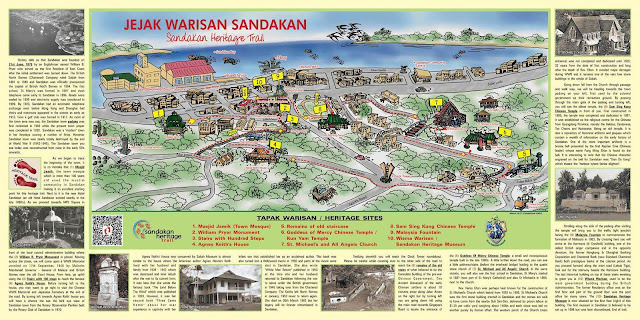 Hyeon's Travel Journal; Sandakan Heritage Trail