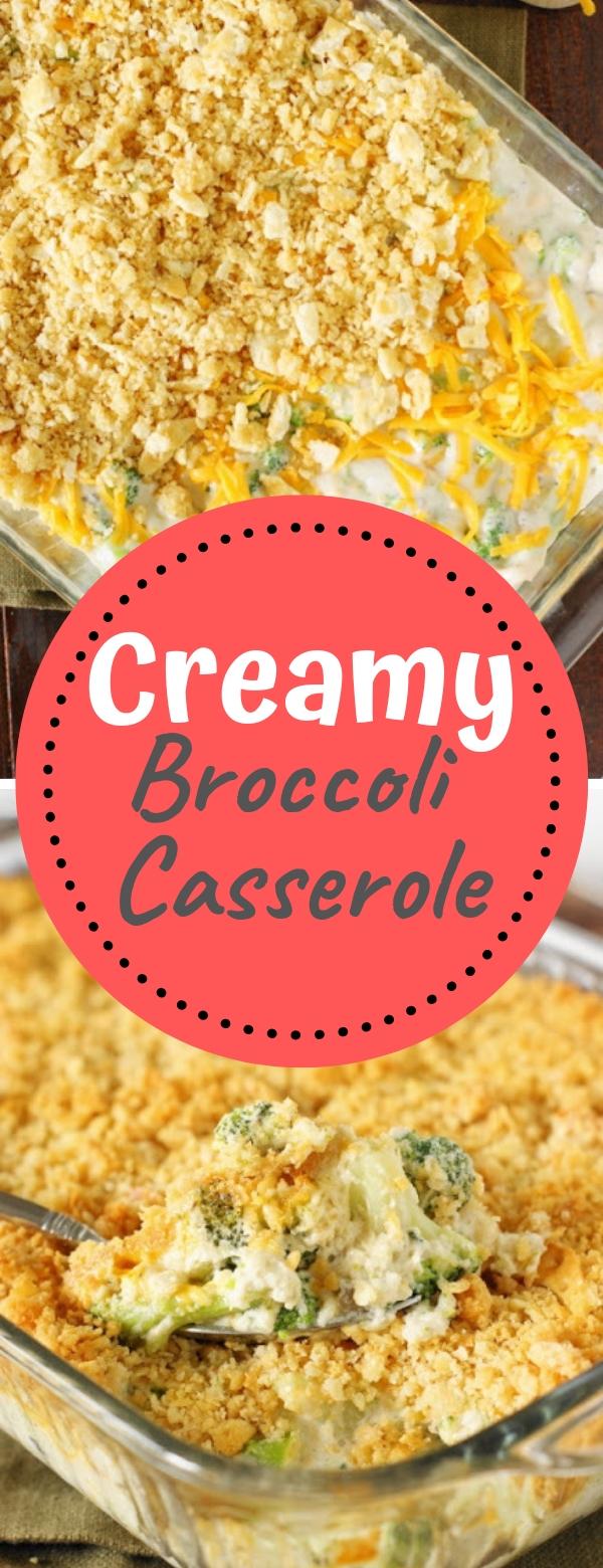 Creamy Broccoli Casserole #creamy #broccoli #casserole