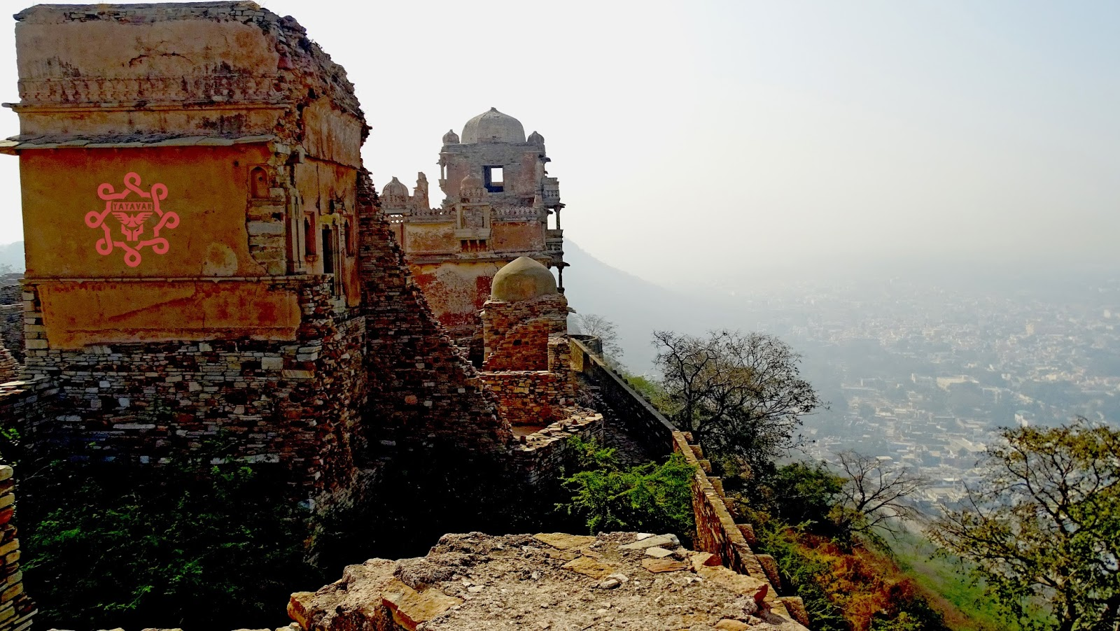 Ruins Of Chittorgarh Fort