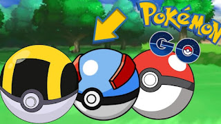 Pokeball di Pokemon Go Gratis
